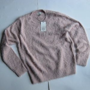 Light pink furry sweater